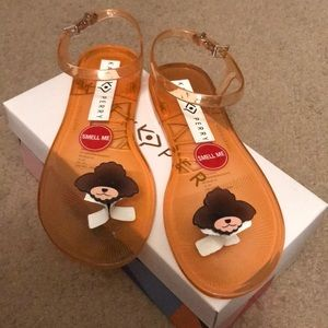 Brand New Katy Perry Jelly Sandals